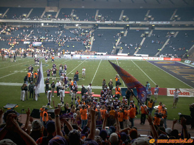 Worldbowl Sieg 2003 in Glasgow